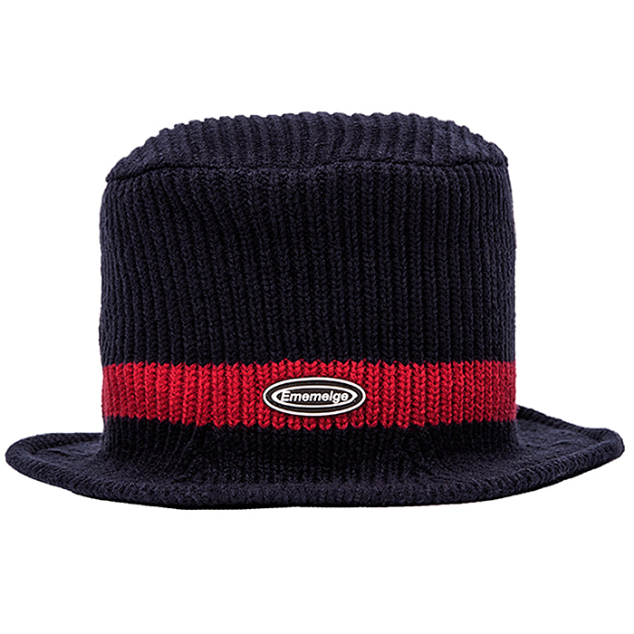 87MM 엠엠엘지 비니 KNIT BUVKET-NAVY