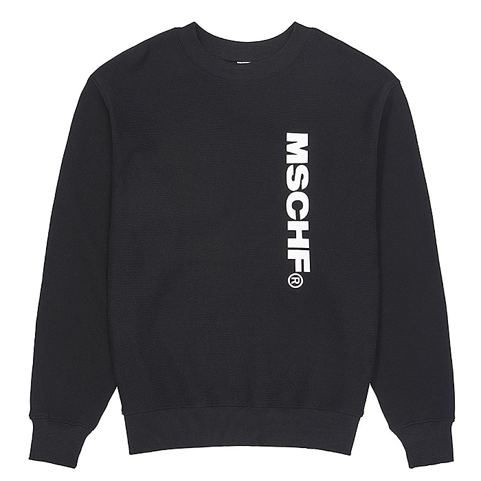 미스치프 크루넥 MSCHF SLOGAN CREWNECK-BLACK