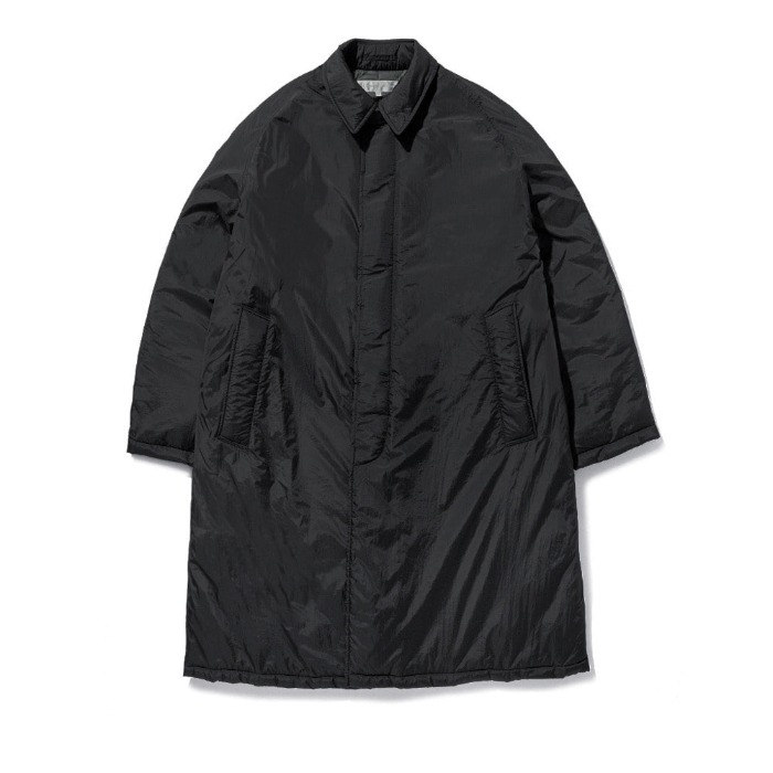 라이풀 코트 PADDED BALMACAAN COAT-BLACK
